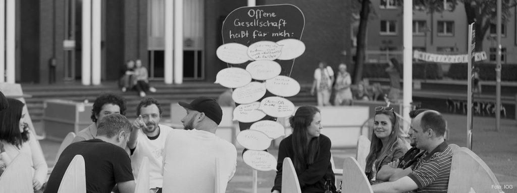 """Projekt der Woche: """"Die offene Gesellschaft in Bewegung - Aufstand der Ideen"""""""