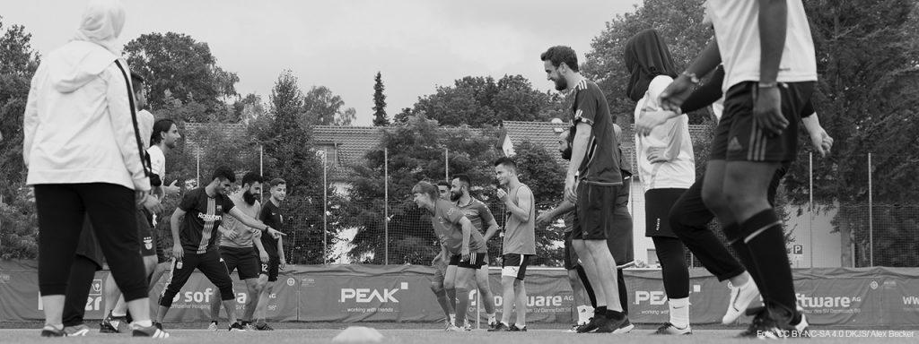 """Projekt der Woche: """"Willkommen im Fußball"""""""