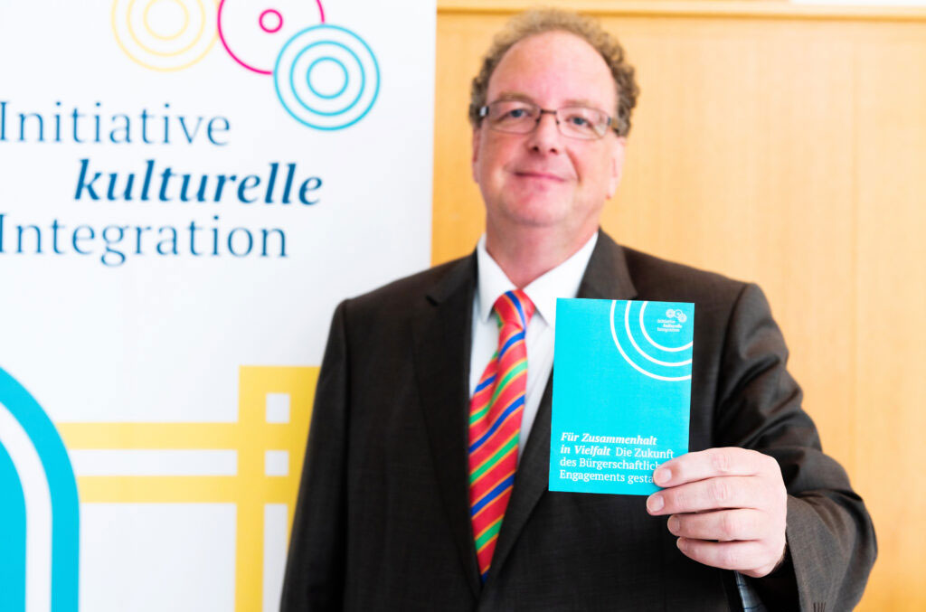 """Dritte Jahrestagung der Initiative kulturelle Integration: """"Bürgerschaftliches Engagement: Vielfalt gestalten!"""""""